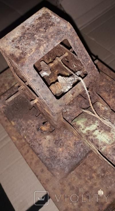 Большой кран СССР грузовик металлический, фото №9