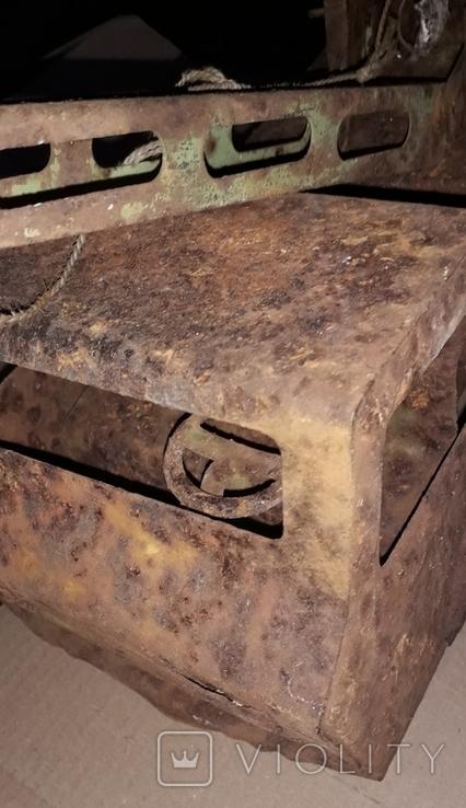 Большой кран СССР грузовик металлический, фото №12