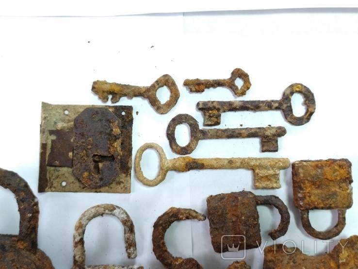 Замки і ключі з німецьких бліндажів ПСВ., фото №3