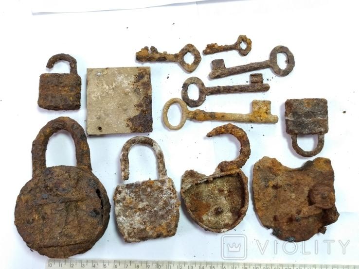 Замки і ключі з німецьких бліндажів ПСВ., фото №6