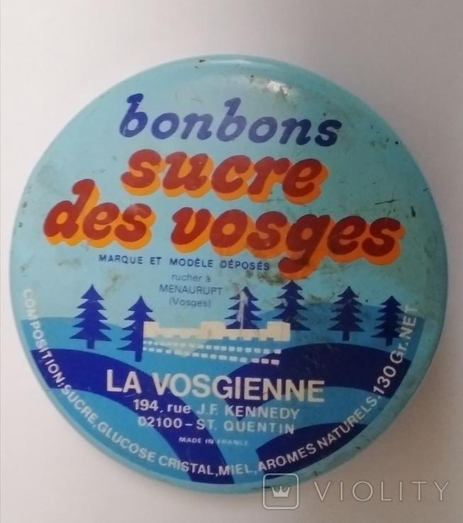 Баночка от сладостей Франция, фото №7