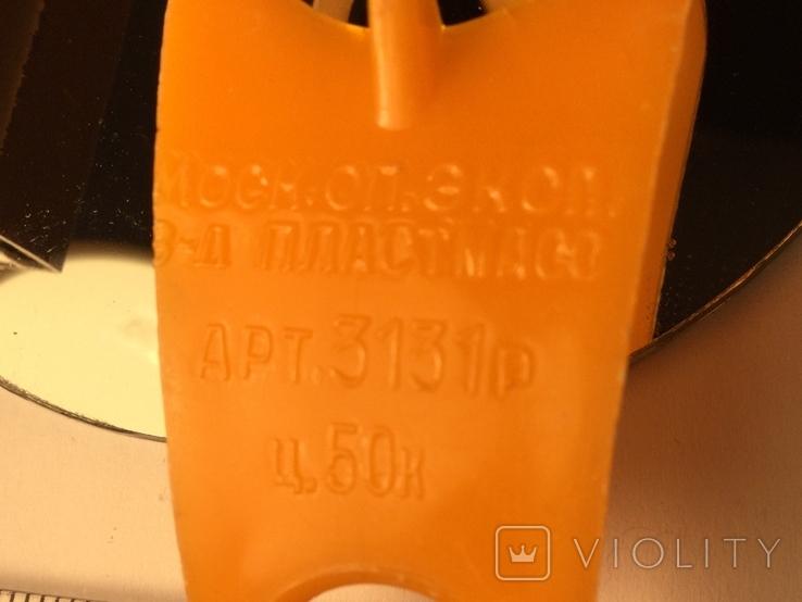 Карандашница СССР 1970 настенная пластиковая, фото №3