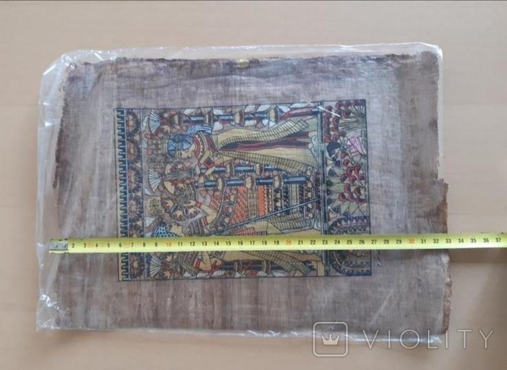 Папирус египетский картина, фото №4