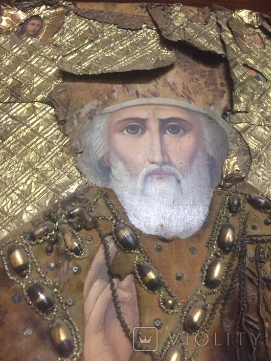 Икона Николая Чудотворца, фото №3