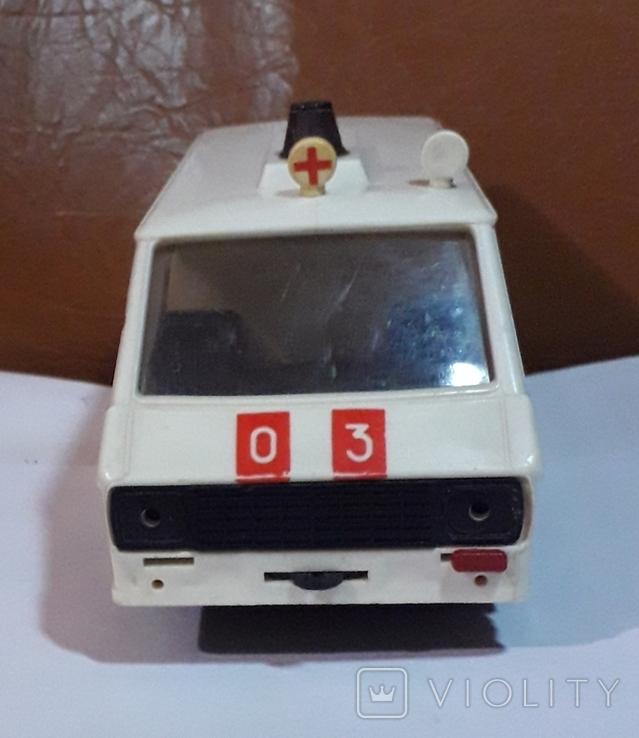Машинка из СССР Раф 2203 скорая помощь , на реставрацию или запчасти, фото №4