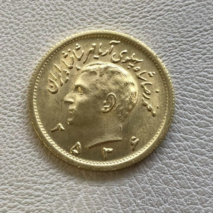 Иран 1 пахлави 8,13 грамм золота 900