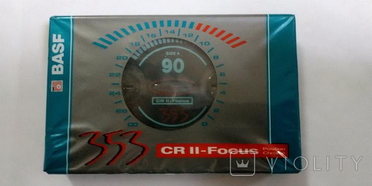 Аудиокассета BASF CR II - Focus, фото №2
