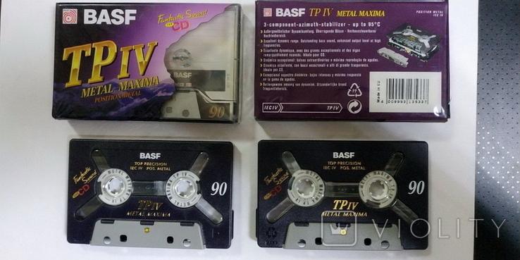 Аудиокассета BASF TP IV METAL MAXIMA, фото №3