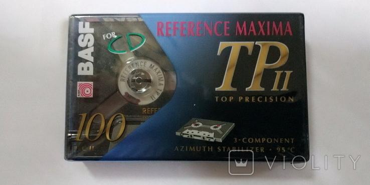 Аудиокассета BASF REFERENCE MAXIMA TP II  100min, фото №2