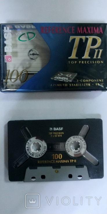 Аудиокассета BASF REFERENCE MAXIMA TP II  100min, фото №3