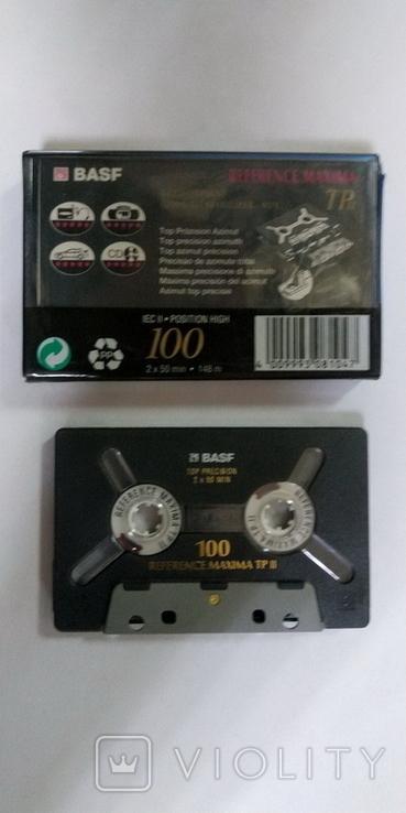 Аудиокассета BASF REFERENCE MAXIMA TP II  100min, фото №4
