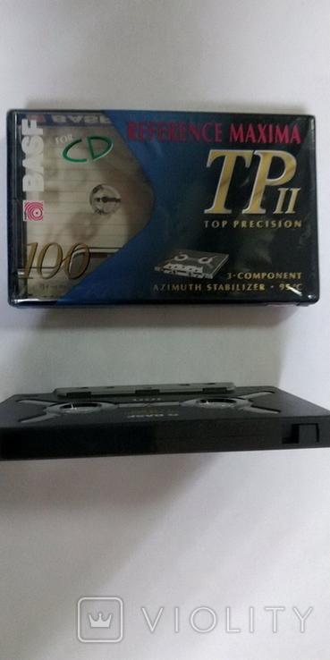 Аудиокассета BASF REFERENCE MAXIMA TP II  100min, фото №6