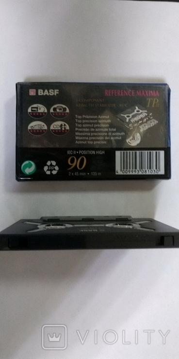 Аудиокассета BASF REFERENCE MAXIMA TP II 90 min, фото №6