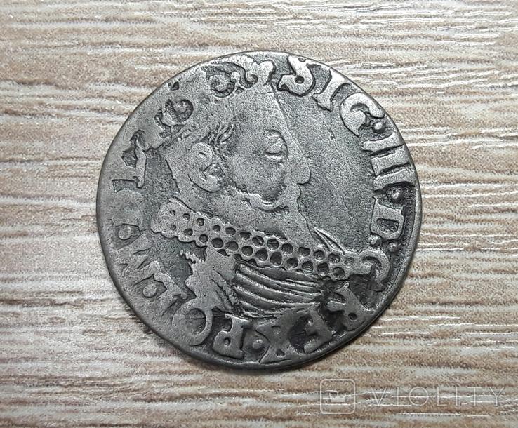 Трояк Сигизмунд-3 1622г., фото №2