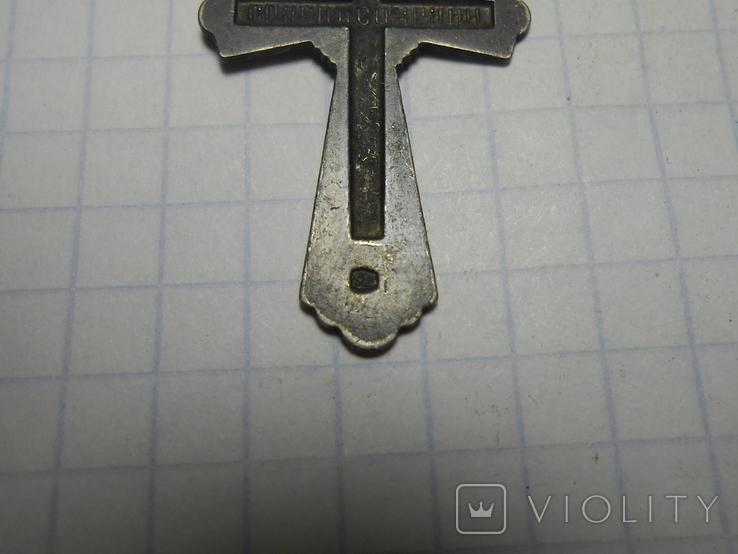 Крестик нательный Серебро 925 Вес - 1,78 грамм, фото №6