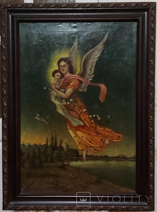Старинная картина, фото №2