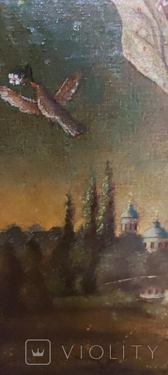 Старинная картина, фото №5