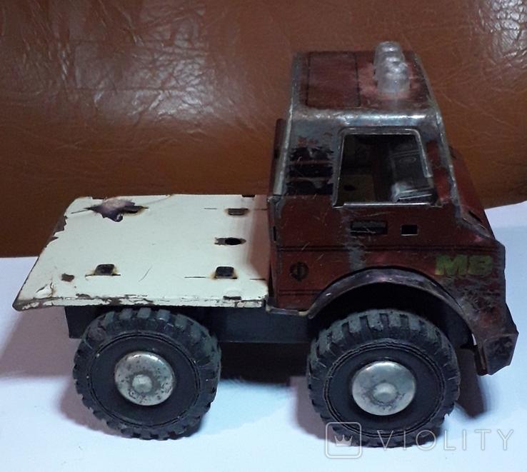 Машинка из СССР длина 16 см., фото №5