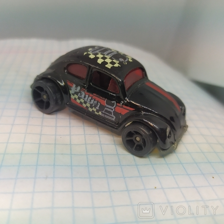 Машинка Volkswagen beetle. 1988 Mattel  (12.20), фото №2