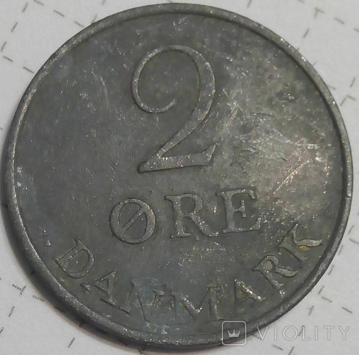 Дания 2 оре 1960, фото №2