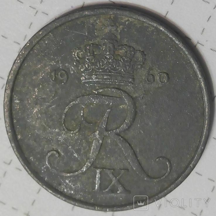 Дания 2 оре 1960, фото №3