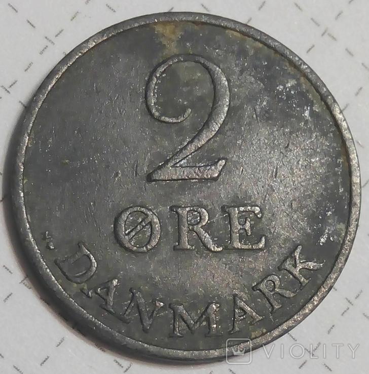 Дания 2 оре 1955, фото №2