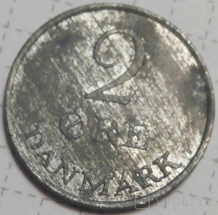 Дания 2 оре 1965, фото №3