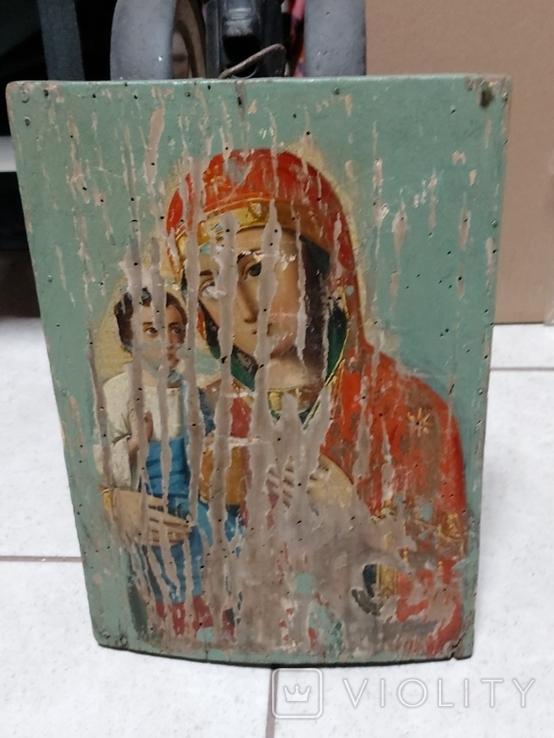 Пресвятая Богородица на реставрацию, фото №2