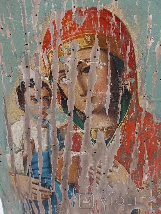 Пресвятая Богородица на реставрацию, фото №3