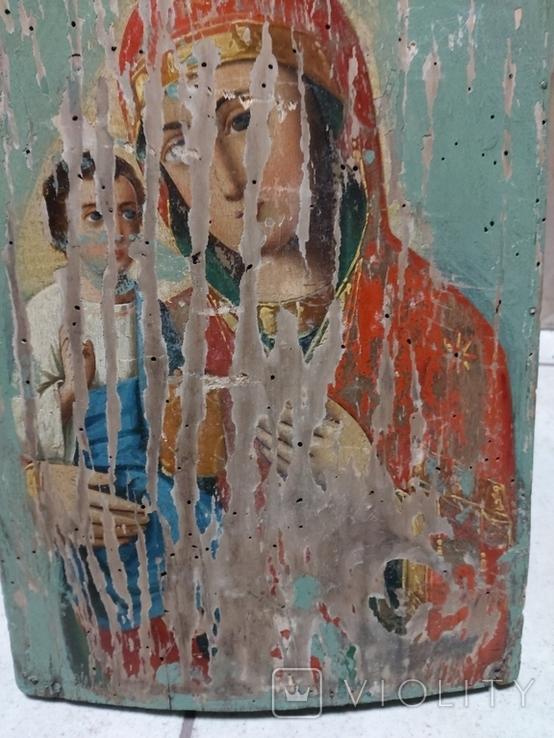 Пресвятая Богородица на реставрацию, фото №5