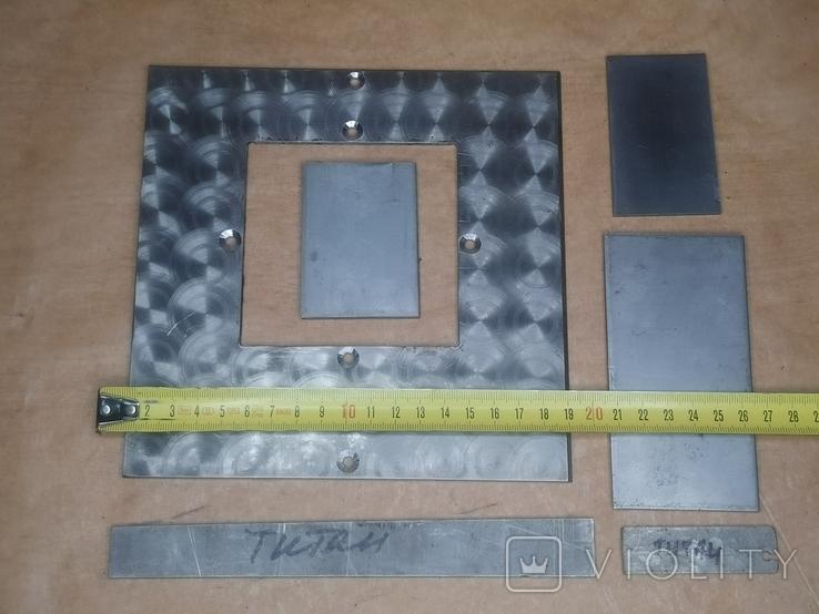 Титан 3мм 4 мм. пластины, фото №5
