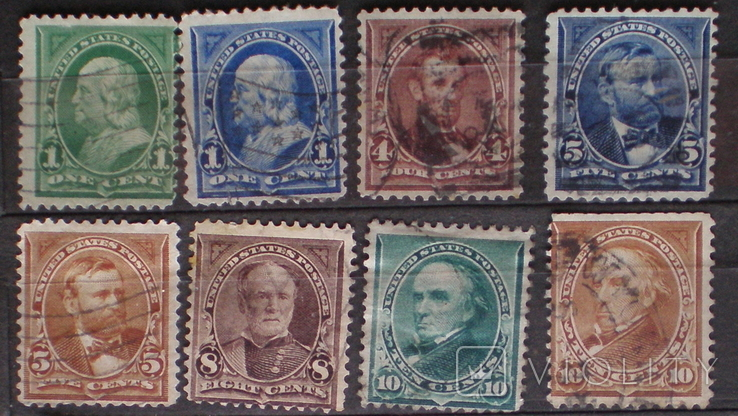 США 1888-1903 набор, фото №2
