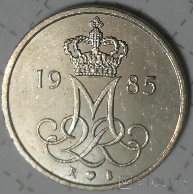 Дания 10 оре 1985, фото №3