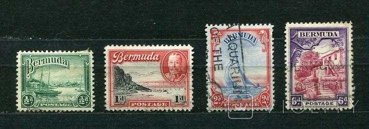 Британские колонии, Бермуды, 1936 г. Георг V, фото №2