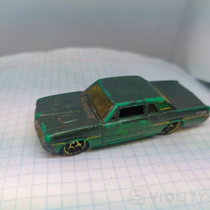 Машинка Pontisc GTO. 2005 Mattel  (12.20), фото №4