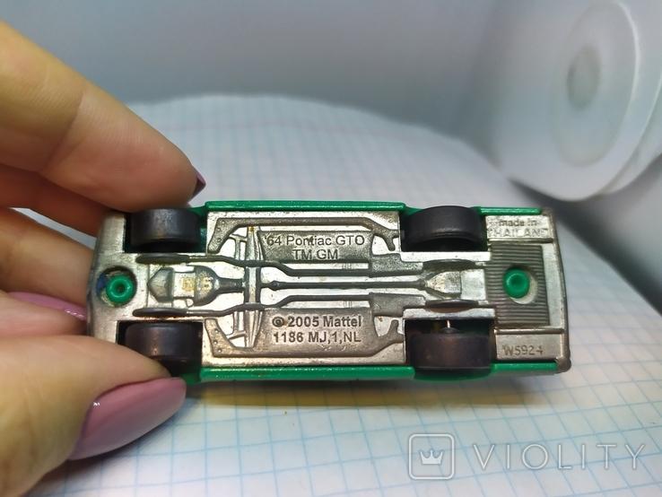 Машинка Pontisc GTO. 2005 Mattel  (12.20), фото №7