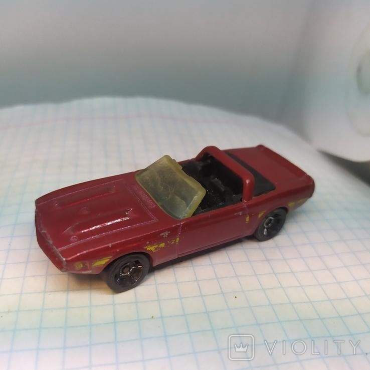Машинка Shelby GT-500. 2010 Mattel  (12.20), фото №4