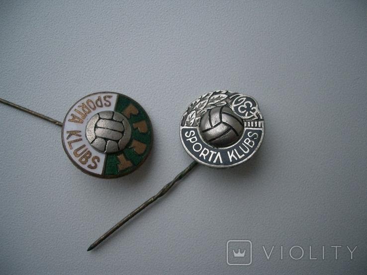 Футбольный клуб завода ВЭФ(Рига) и еще тоже латвийский, фото №3