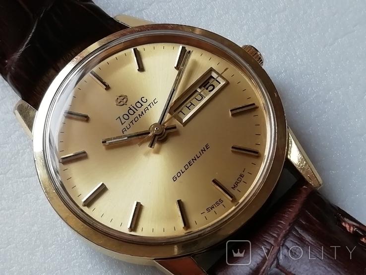 Часы Zodiac Automatic Goldenline, фото №2