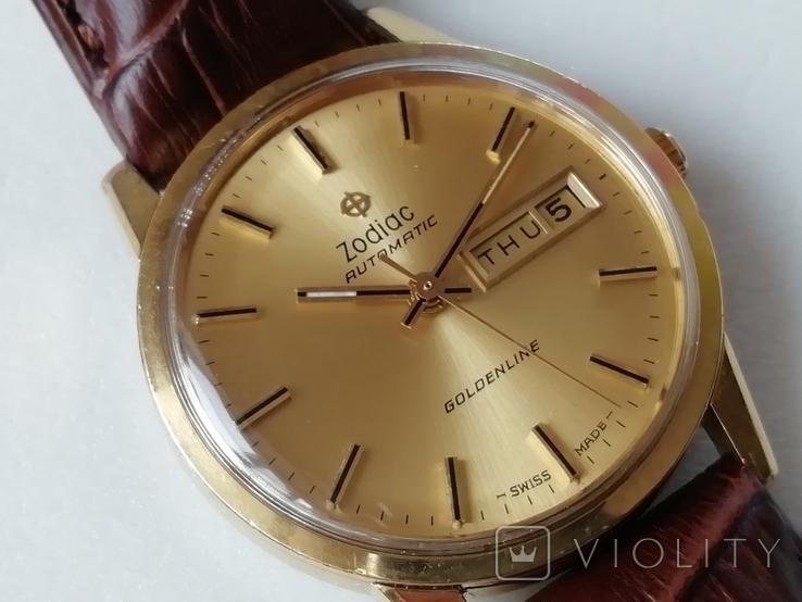Часы Zodiac Automatic Goldenline, фото №4