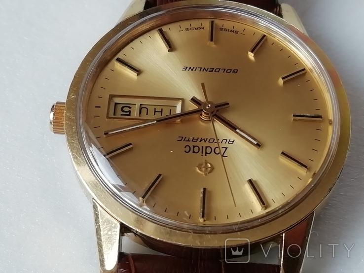 Часы Zodiac Automatic Goldenline, фото №6