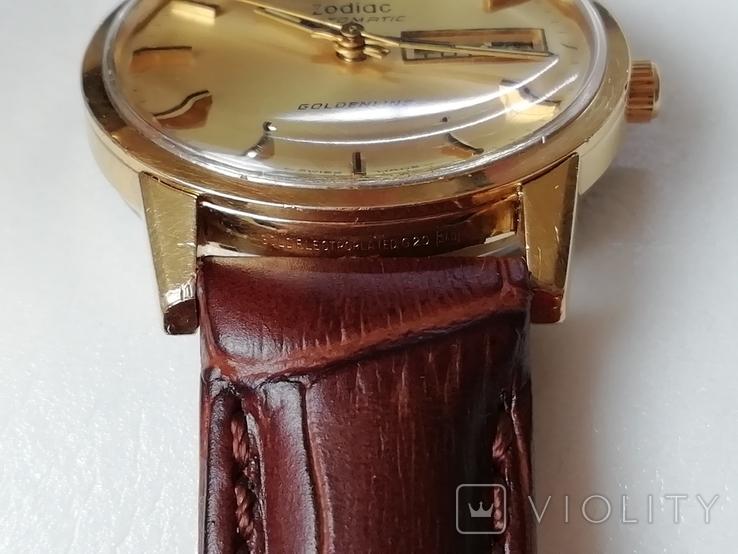Часы Zodiac Automatic Goldenline, фото №7