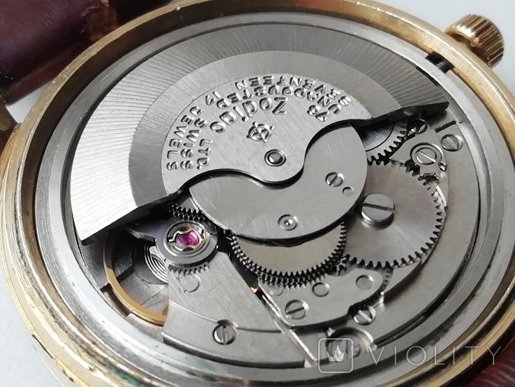 Часы Zodiac Automatic Goldenline, фото №12