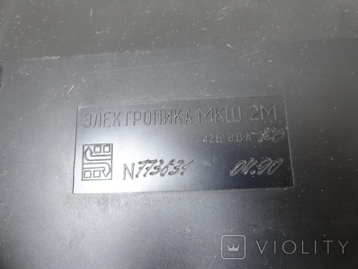 Калькулятор электроника мкш 2м, фото №7