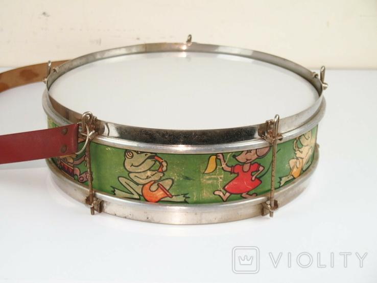 Барабан детский СССР, фото №3