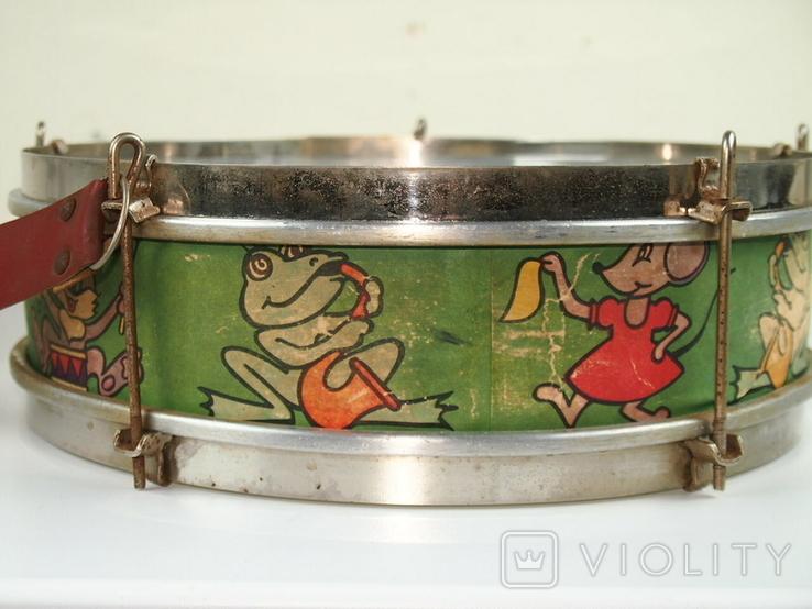 Барабан детский СССР, фото №2