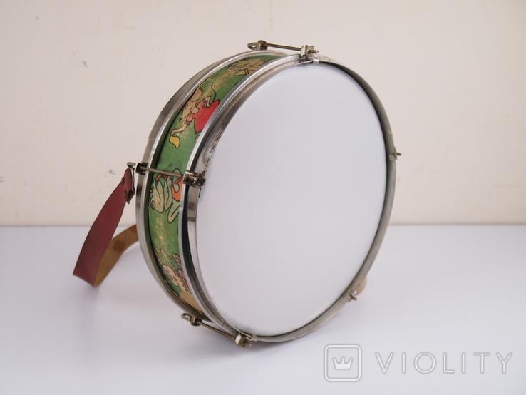Барабан детский СССР, фото №8