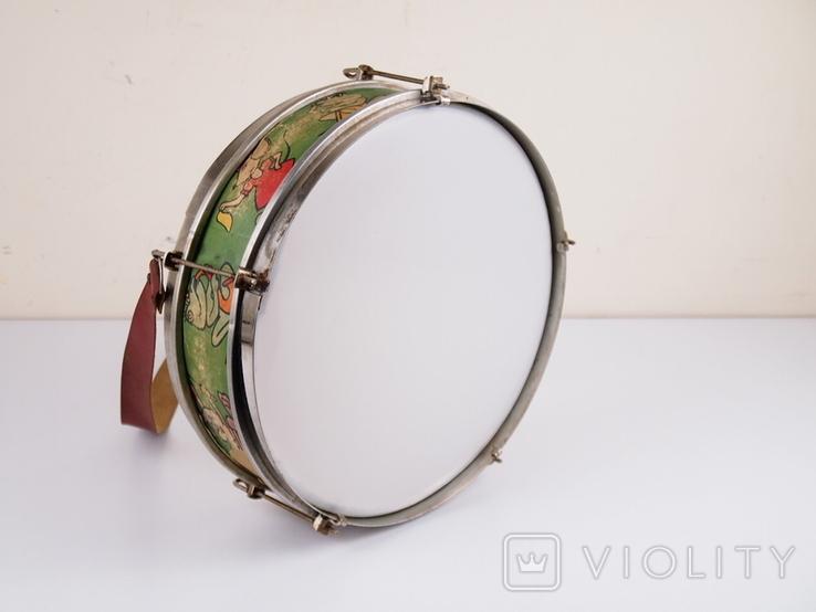Барабан детский СССР, фото №9
