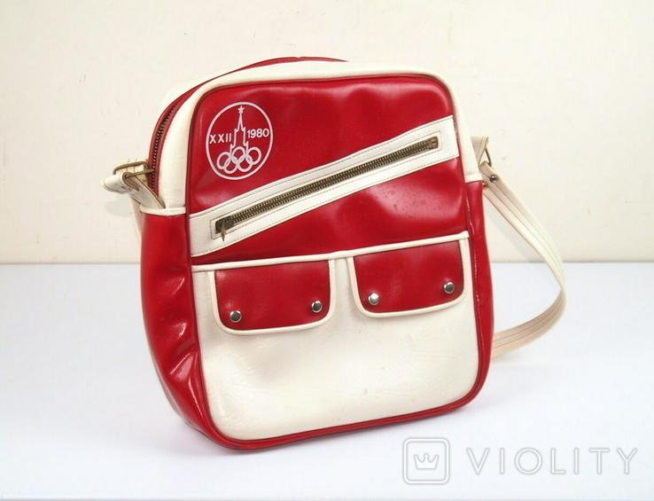 Спортивная сумка Олимпиада 80 СССР, фото №4
