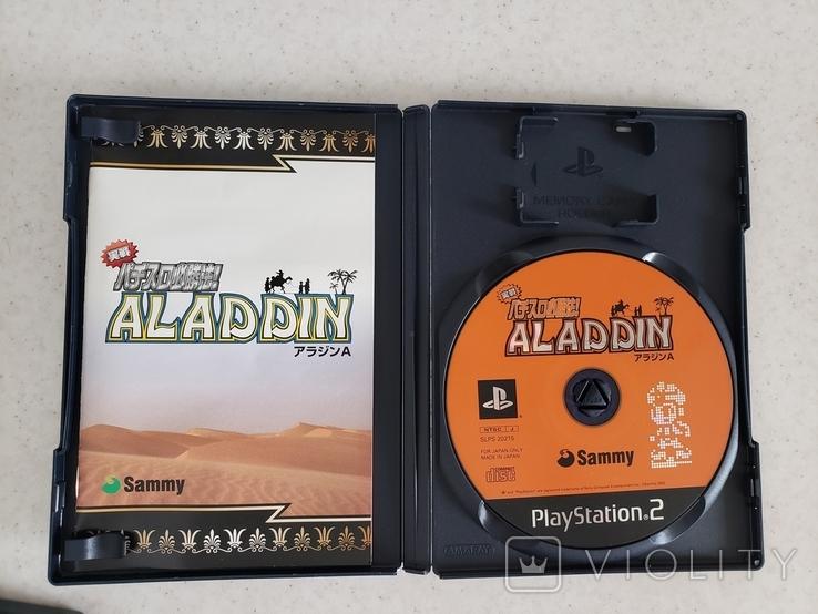 Jissen Pachi-Slot Hisshouhou Aladdin A (NTSC-J, PS2), фото №4